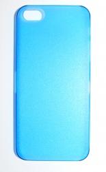 Пластиковая накладка для iPhone 5 синий