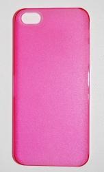 Пластиковая накладка для iPhone 5 малиновый