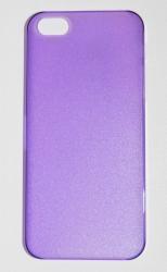 Пластиковая накладка для iPhone 5 фиолетовый