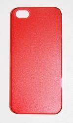 Пластиковая накладка для iPhone 5 красный
