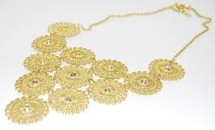 Ожерелье Уголок золотое