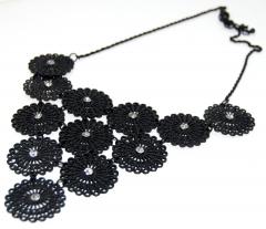 Ожерелье Уголок черное