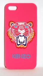 Чехол Kenzo Тигр для iPhone 5 розовый