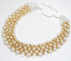 Крупное жемчужное ожерелье