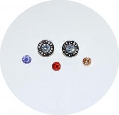 Серьги Булгари со сменными кристаллами