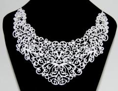 Ожерелье белое
