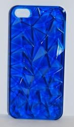 Чехол 3D для iPhone 5 синий