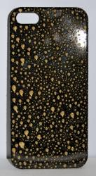 Чехол Капли для iPhone 5 черный