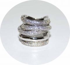 Кольцо в стиле De Grisogono
