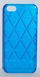 Чехол Ромбик для iPhone 5 синий