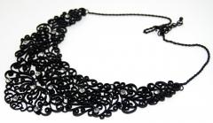 Ожерелье черное
