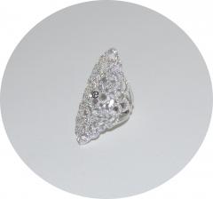 Серебряное кольцо в Стиле Мессика