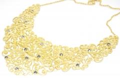 Ожерелье золотое