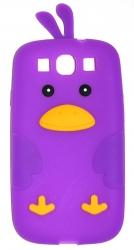 Чехол цыпленок для Samsung Galaxy S3 фиолетовый