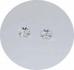 Сережки гвоздики Бабочки