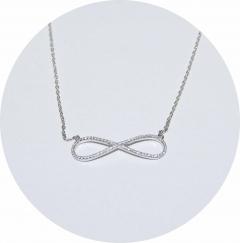 Подвеска Бесконечность серебро 925