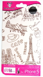 Защитная пленка Paris для iPhone 5S