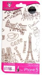 Защитная пленка Paris для iPhone 5