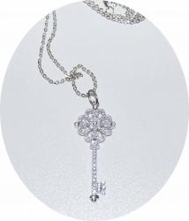 Подвеска Ключик Tiffany серебро 925