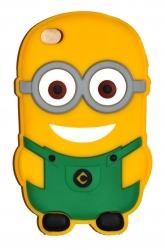 Чехол Миньон для iPhone 4 зеленый