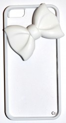 Чехол Бантик для iPhone 5S белый