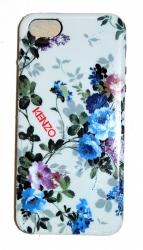 Чехол силиконовый Kenzo для iPhone 5 Цветочки