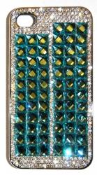 Чехол для iPhone 4 со стразами 2