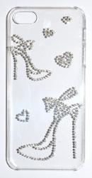 Чехол Туфли для iPhone 4S стразы
