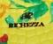 Сумка Richezza с цветами желтая