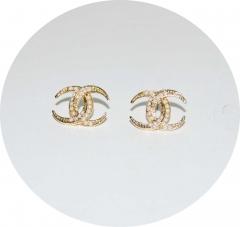 Серьги Chanel Dubai золотые