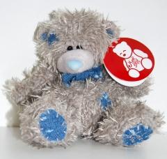 Мишка Тедди джинсовый 13 см