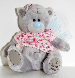 Мишка Тедди в платье 13 см