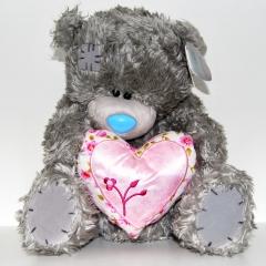 Мишка Тедди с сердцем 30 см