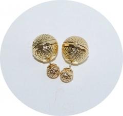 Серьги Dior золотые