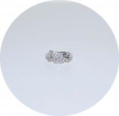 Серебряное кольцо Love