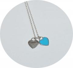 Кулон в стиле Tiffany & Co голубой