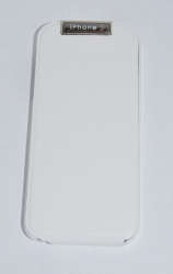 Чехол-книжка для iPhone 5S на магните белый