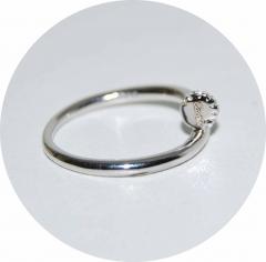 Серебряное кольцо Cartier Гвоздь