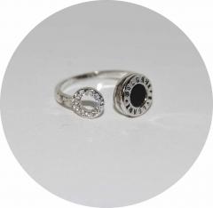 Кольцо на фалангу Булгари