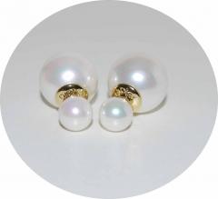 Серьги Mise En Dior перламутровые