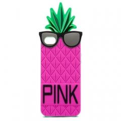 Чехол Ананас для iPhone 5S Victoria's Secret малиновый