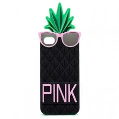 Чехол Ананас для iPhone 5S Victoria's Secret черный