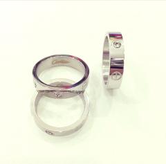 Кольцо Cartier серебро