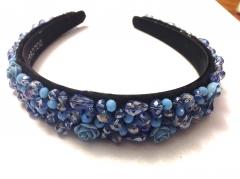Ободок D&G голубой