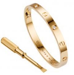 Браслет Cartier золотой