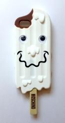 Чехол Moschino Эскимо для iPhone 5s белый