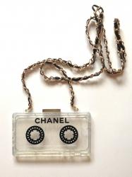 Чехол CHANEL Касета для iPhone 5s черный