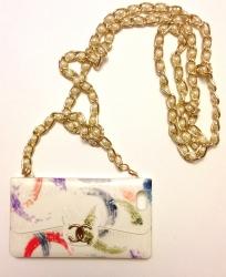 Чехол сумочка Chanel для iPhone 5 белый