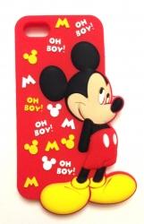 Чехол Микки Маус для iPhone 5 красный