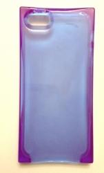Чехол Льдинка для iPhone 5 фиолетовый